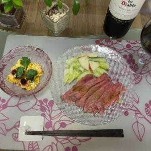 デパ地下惣菜でお夕飯