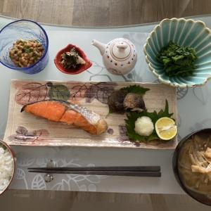 佐藤水産の鮭と菜の花の辛子和え
