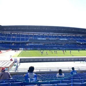 【横浜F・マリノス】スーパーディスタンスシート観戦記!その余裕や視界、チケット入手難易度まで写真とともにガイドします