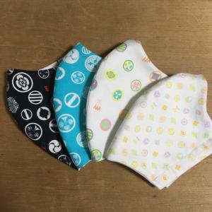 【受注生産】家紋布マスク