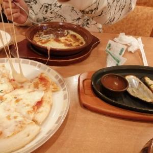 テスト終了→お昼ご飯