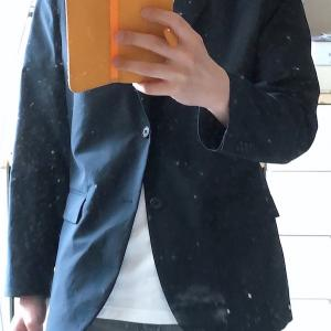 UNIQLOのOnlineで買った感動ジャケットとリブタンクトップが届いた