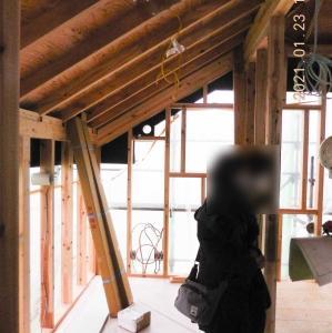 木工事 9 書斎部屋