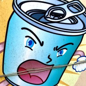 碧眼で、イケメンで、空き缶【おにさんぽフォト】