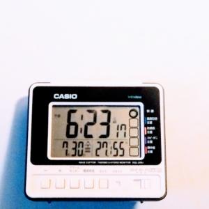 【80年代ラジカセ風】温湿度計付き電波目覚まし時計を買う