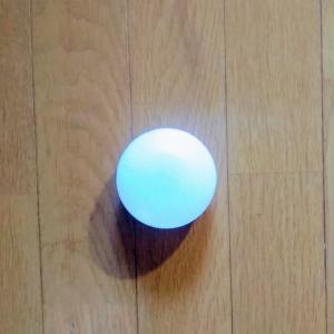 無印良品のセンサーライトを天井に設置し、日本家屋の暗所を程よく明るく