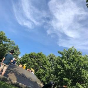 暑い 熱い エコロジーパーク