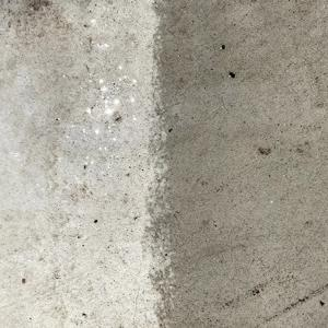 アクアシール200S。塗ったところと、塗ってないところの比較ができた。