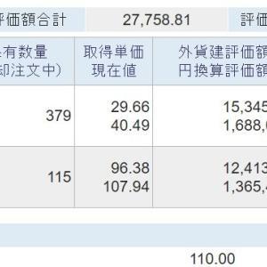 海外資産(2021.8) 4週目