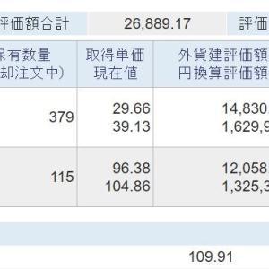 海外資産(2021.9) 3週目