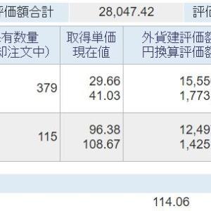 海外資産(2021.10) 4週目