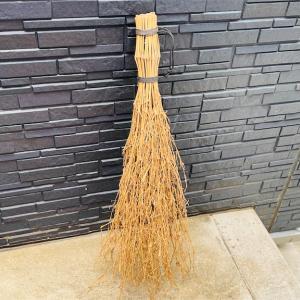 落ち葉掃除用🧹ミニ竹ぼうき