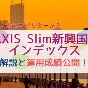【銘柄解説】eMAXIS Slim新興国株式インデックスファンド|運用成績も公開!