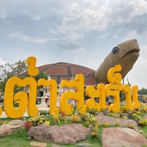 スリンの巨大なカメと博物館