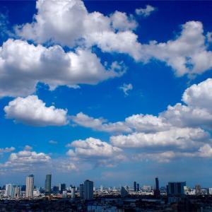 雨季の晴れ間【バンコクの空】