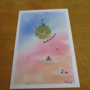 おはようございます~~~~今日のパステル画。