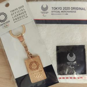 オリンピックグッズ購入品。