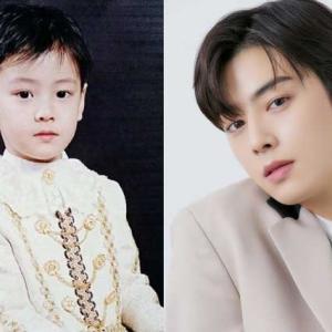 イケメン韓国俳優のかわいい子供時代と今を比較