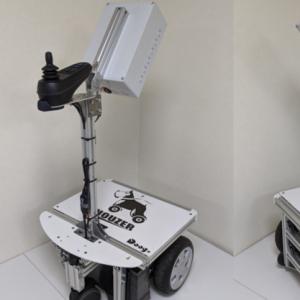 Doog、有人空間でも使用可能な、ウシオのウイルス抑制・除菌技術Care222®を搭載し簡単に自動巡回走行できる小型ロボットなどを第5回ロボデックスで展示予定