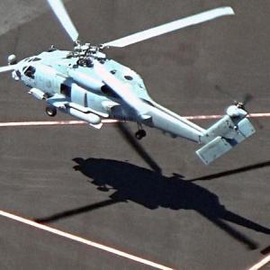【特権】米軍ヘリ、六本木でタッチ・アンド・ゴー 密集地を低空で旋回
