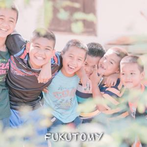 タイの子供たちの笑顔