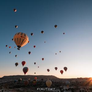 トルコの空の旅 今度は下から