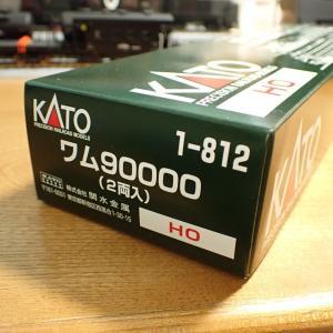 KATO  ワム90000 入線!