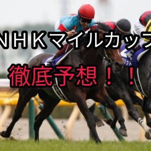 2021  NHKマイルカップ徹底予想!!有力馬は一目瞭然!