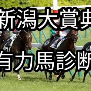 2021 新潟大賞典の有力馬と予想!シンプルでOk!