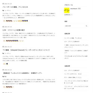 【ブログ初心者】トップページを見やすく
