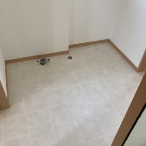 【DIY】洗面所やトイレのクッションフロアの貼り方