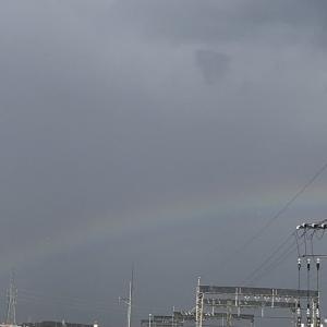奈良は虹がよく出る