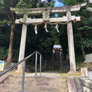 神功皇后陵と山陵八幡神社へ