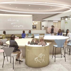 国内初GODIVA café Tokyoと、GODIVA北アメリカ撤退のニュース