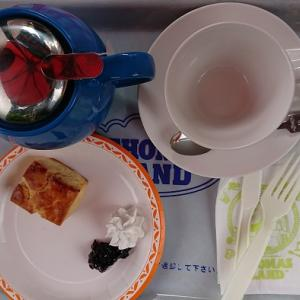 トーマスランド内にある、カインドリー婦人のキッチンで驚きのおやつタイム!