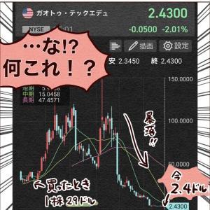 中国株で100万円が…