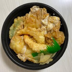 ほっともっと 海鮮天とじ丼:想定以上のボリューム感/たっぷり食べた気になれるイチオシの一品