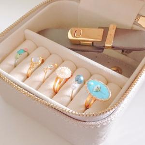 《ファッション》お気に入りの指輪コレクション。