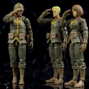 メガハウス G.M.G.(ガンダムミリタリージェネレーション) ジオン公国軍一般兵士01~03 レビュー