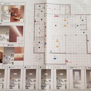 転勤族の家づくり75 設備打ち合せ『コンセント&スイッチ』vol.1 これは見逃していた!! 照明間取り図ではわからなかった使いづらさ。Mさんからさすがの重要提案