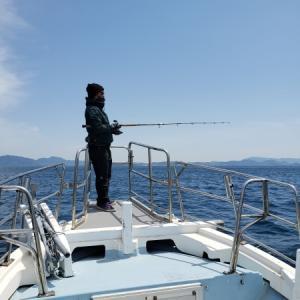 2021年 津屋崎倉掛丸で出港12回目 近海ヒラトップ