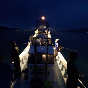 2021年 津屋崎倉掛丸で出港23~24回目 ボートエギング