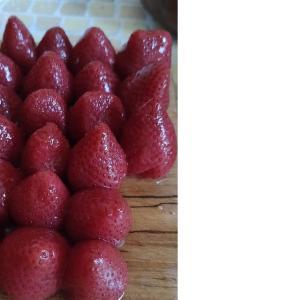 いちごの缶詰 発見!個数や形状、色を大公開