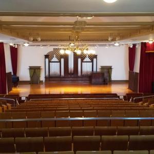 2019-11、奏楽堂でパイプオルガンの勉強