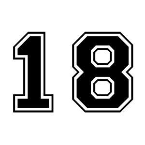 背番号「18」の行方について考察