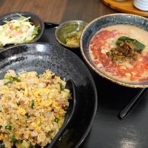 テラノレグラスで富岡の「中華料理とスイーツのお店 桂花房 (ケイカボウ)」へランチ~五目炒飯+担々麺のセットを注文~