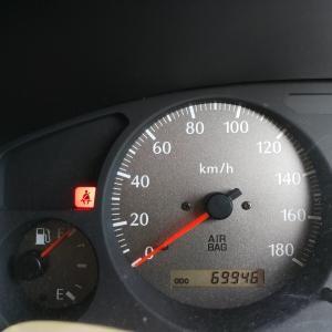 【納車後の最高燃費(10.4km/l)更新達成♪】テラノレグラスに給油と燃費計測(走行距離:69,946km)