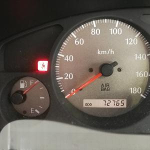 【祝・最高燃費更新!】テラノレグラスに給油と燃費計測(走行距離:72,765km)~ENEOSジェイクエストはEneKeyまたはベイシアお買い物レシート提示で5円引き♪&ぐーちょきパスポートでスタンプ+2個~