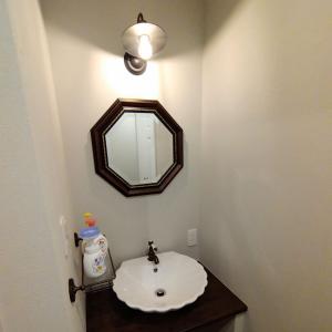 【入居前WEB内覧会】ようこそ我が洋館へ その④【洗面室・脱衣室/ランドリールーム・浴室】