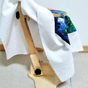 刺繍道具に新入りさん加入。tsumuguさんの2way刺繍スタンド